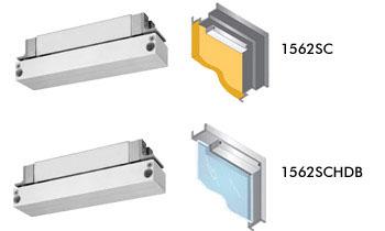 1562s Series Semi Concealed Mortise Emlocks