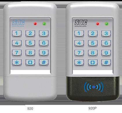 Entrycheck 920 Series Digital Keypads