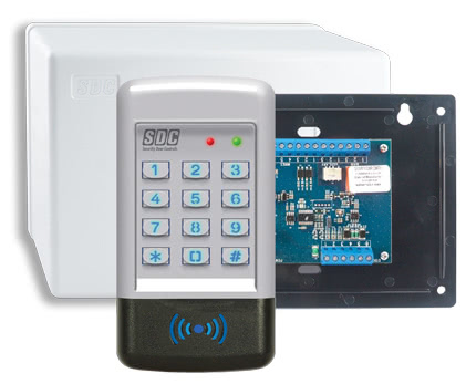 EntryCheck™ 921 Series. Integrated Digital Keypads with External Electronics
