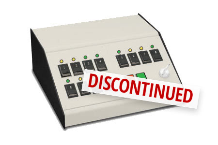 Tcc Series Sloped Desk Top Consoles