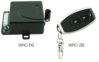WRC Series 2 Channel Wireless 433MHz Transmitter & Receiver